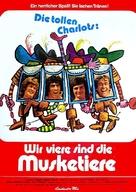 Les quatre Charlots mousquetaires - German Movie Poster (xs thumbnail)