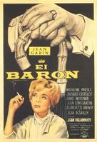 Le baron de l'écluse - Spanish Movie Poster (xs thumbnail)
