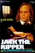 Jack the Ripper - German Movie Poster (xs thumbnail)