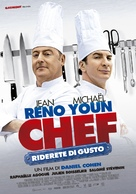 Comme un chef - Italian Movie Poster (xs thumbnail)