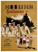 The Sullivans - Danish Movie Poster (xs thumbnail)