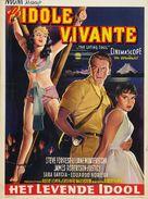 The Living Idol - Belgian Movie Poster (xs thumbnail)