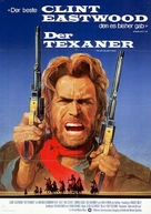 The Outlaw Josey Wales - German Movie Poster (xs thumbnail)