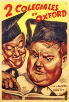 A Chump at Oxford - Argentinian Movie Poster (xs thumbnail)