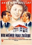 Mr. Blandings Builds His Dream House - German Movie Poster (xs thumbnail)