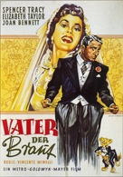 Father of the Bride - German Movie Poster (xs thumbnail)