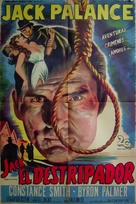 Man in the Attic - Argentinian Movie Poster (xs thumbnail)