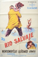 Wild River - Argentinian Movie Poster (xs thumbnail)
