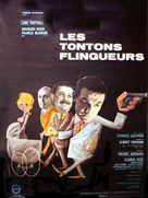 Les tontons flingueurs - French Movie Poster (xs thumbnail)