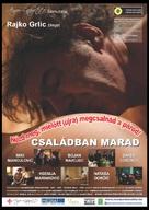Neka ostane medju nama - Hungarian Movie Poster (xs thumbnail)