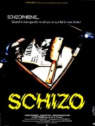 Schizo - French Movie Poster (xs thumbnail)