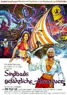 The Golden Voyage of Sinbad - German Movie Poster (xs thumbnail)