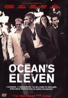 Ocean's Eleven - French Movie Cover (xs thumbnail)