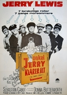 The Family Jewels - Danish Movie Poster (xs thumbnail)