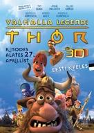 Hetjur Valhallar - Þór - Estonian Movie Poster (xs thumbnail)