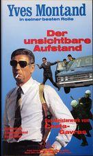 État de siège - German VHS cover (xs thumbnail)