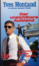 État de siège - German VHS movie cover (xs thumbnail)