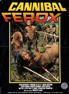 Cannibal ferox - French Movie Poster (xs thumbnail)