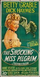 The Shocking Miss Pilgrim - Movie Poster (xs thumbnail)