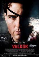 Valkyrie - Hungarian Movie Poster (xs thumbnail)