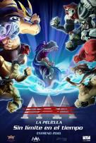 AAA, la película: Sin límite en el tiempo - Mexican Movie Poster (xs thumbnail)