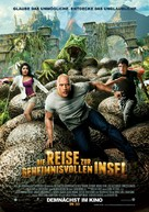 Journey 2: The Mysterious Island - German Movie Poster (xs thumbnail)