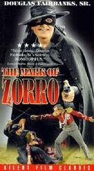 The Mark of Zorro - VHS cover (xs thumbnail)