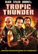 Tropic Thunder - German Movie Cover (xs thumbnail)
