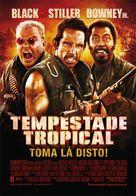 Tropic Thunder - Portuguese Movie Poster (xs thumbnail)
