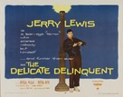 The Delicate Delinquent - Theatrical poster (xs thumbnail)