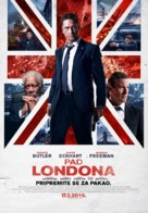 London Has Fallen - Serbian Movie Poster (xs thumbnail)