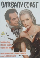 Barbary Coast - British DVD cover (xs thumbnail)