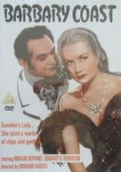 Barbary Coast - British DVD movie cover (xs thumbnail)