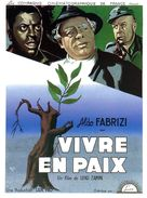 Vivere in pace - French Movie Poster (xs thumbnail)