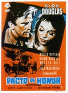 The Indian Fighter - Spanish Movie Poster (xs thumbnail)