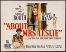 About Mrs. Leslie - Movie Poster (xs thumbnail)