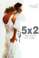 5x2 - Czech DVD movie cover (xs thumbnail)