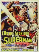 Atom Man Vs. Superman - Belgian Movie Poster (xs thumbnail)