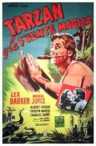 Tarzan's Magic Fountain - Argentinian Movie Poster (xs thumbnail)