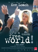 It's a Free World... - French Movie Poster (xs thumbnail)
