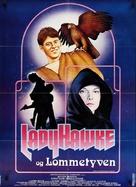 Ladyhawke - Danish Movie Poster (xs thumbnail)