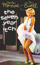 The Seven Year Itch - VHS cover (xs thumbnail)