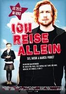 Jeg reiser alene - German Movie Poster (xs thumbnail)