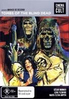 La noche del terror ciego - Australian DVD movie cover (xs thumbnail)