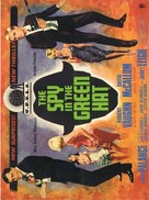 The Spy in the Green Hat - British Movie Poster (xs thumbnail)