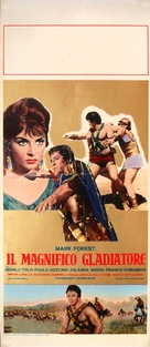 Il magnifico gladiatore - Italian Movie Poster (xs thumbnail)
