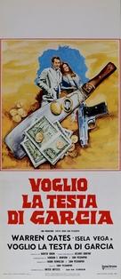 Bring Me the Head of Alfredo Garcia - Italian Movie Poster (xs thumbnail)