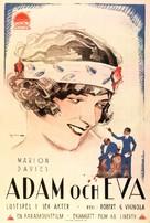 Adam and Eva - Swedish Movie Poster (xs thumbnail)