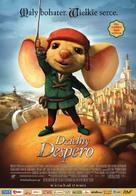 The Tale of Despereaux - Polish Movie Poster (xs thumbnail)