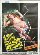 La vie amoureuse de l'homme invisible - Italian Movie Poster (xs thumbnail)